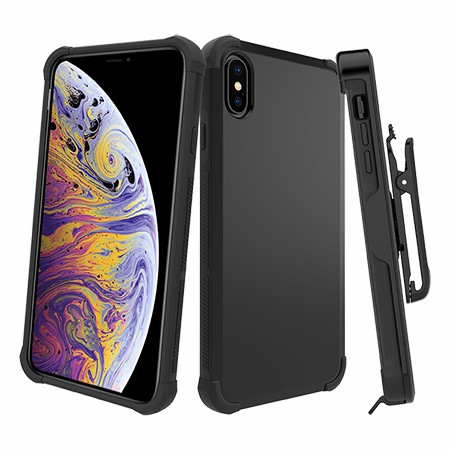 Picture of Secure Impact Case w Holster for iPhone Xs Max, Black