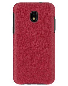 Picture of Supreme Leather Case for Samsung J3 Achieve, Red
