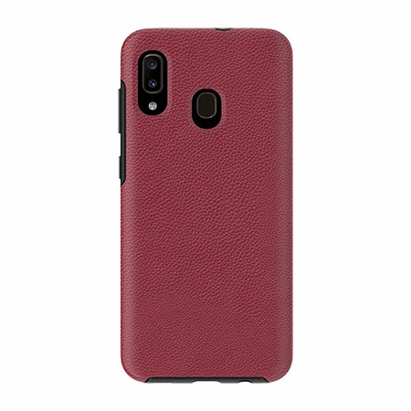 Picture of Supreme Leather Case for Samsung A20, Red