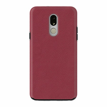 Picture of Supreme Leather Case for LG Stylo 5, Red