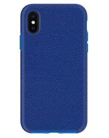 Picture of Supreme Leather Case for Apple iPhone X/Xs, Blue