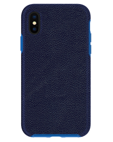 Picture of Supreme Leather Case for Apple iPhone X/Xs, Dark Blue