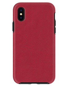 Picture of Supreme Leather Case for Apple iPhone X/Xs, Red