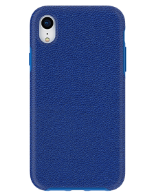 Picture of Supreme Leather Case for Apple iPhone XR, Blue