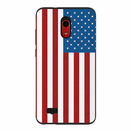 Picture of SYB Slimline Series Case for Coolpad Legacy Go,American Flag