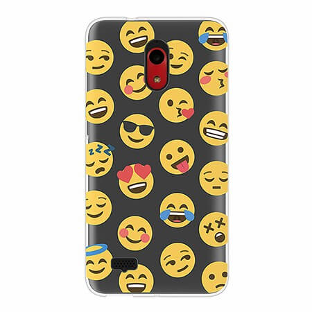 Picture of SYB Slimline Series Case for Coolpad Legacy Go, Emojis