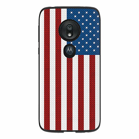 Picture of Slimline Series Case for Moto G7 Play, American Flag