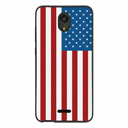 Picture of SYB Slimline Series Case for Wiko Ride, American Flag