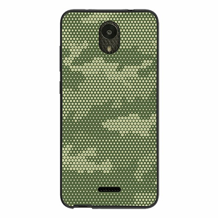 Picture of SYB Slimline Series Case for Wiko Ride, Hexa Camo