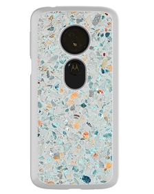 Picture of Motorola Moto G6 Play Sparkle Marble Series Case, Mix Pastel