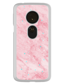 Picture of Motorola Moto G6 Play Sparkle Marble Series Case, Pink