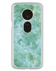 Picture of Motorola Moto G6 Play Sparkle Marble Series Case, Teal
