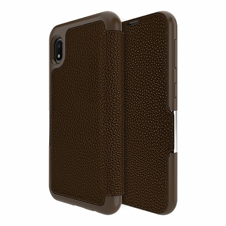 Picture of Sparta Folio Case for Samsung A10e, Brown