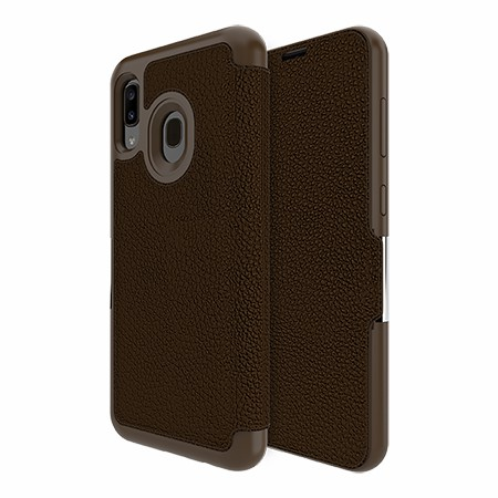 Picture of Sparta Folio Case for Samsung A20, Brown