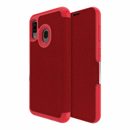 Picture of Sparta Folio Case for Samsung A20, Red