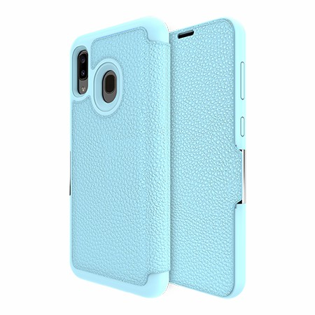 Picture of Sparta Folio Case for Samsung A20, Soft Blue