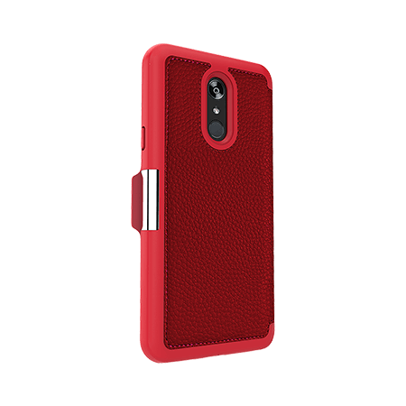 Picture of Sparta Folio Case for LG Stylo 4/4+, Red