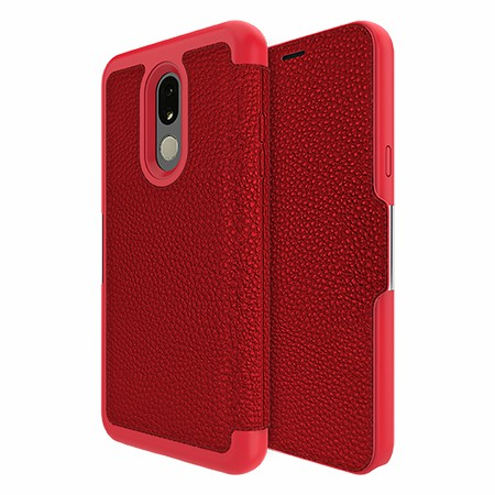 Picture of Sparta Folio Case for LG Stylo 5, Red