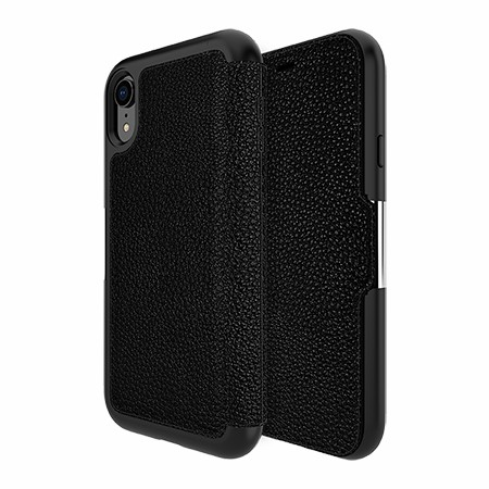 Picture of Sparta Folio Case for Apple iPhone XR, Black