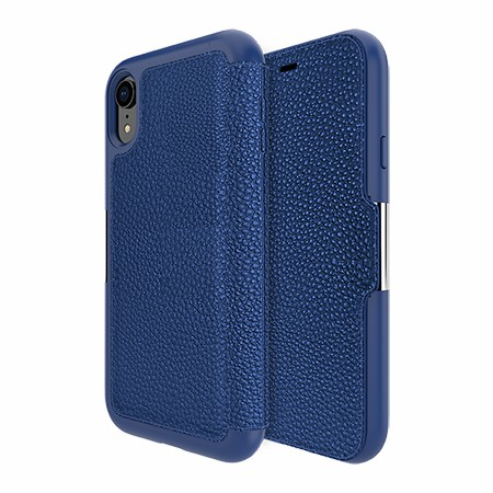 Picture of Sparta Folio Case for Apple iPhone XR, Blue