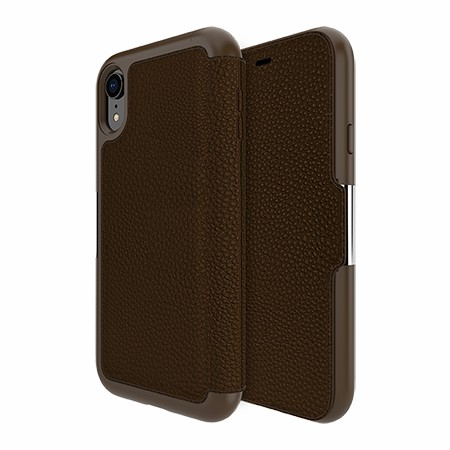 Picture of Sparta Folio Case for Apple iPhone XR, Brown