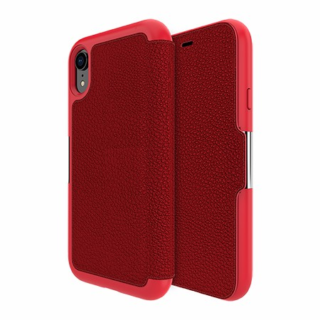 Picture of Sparta Folio Case for Apple iPhone XR, Red