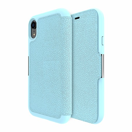Picture of Sparta Folio Case for Apple iPhone XR, Soft Blue