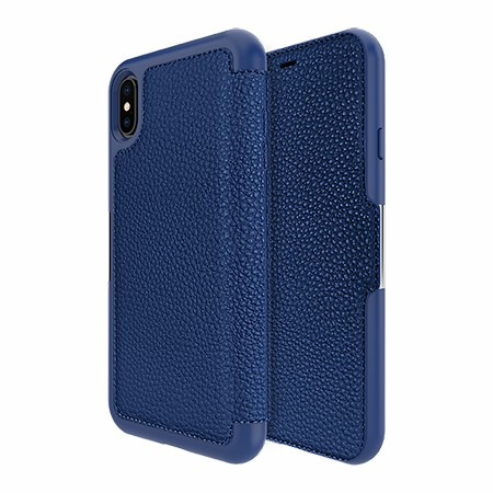 Picture of Sparta Folio Case for Apple iPhone Xs Max, Blue