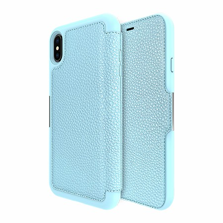 Picture of Sparta Folio Case for Apple iPhone Xs Max, Soft Blue