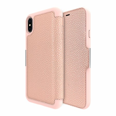 Picture of Sparta Folio Case for Apple iPhone Xs Max, Soft Pink