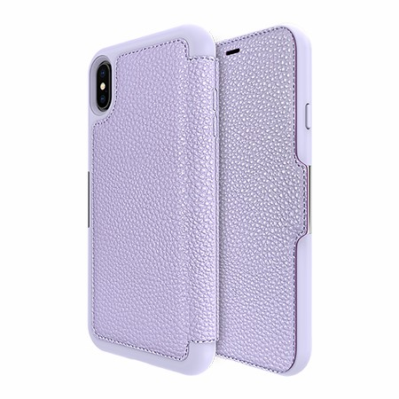 Picture of Sparta Folio Case for Apple iPhone Xs Max, Violet