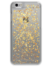 Picture of Apple iPhone 6 & 6s Style Series Case, Gold Flakes