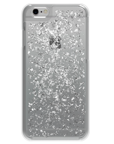 Picture of Apple iPhone 6 & 6s Style Series Case, Silver Flakes