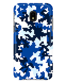 Picture of Samsung Galaxy J3 Achieve Supreme Series Case, Blue Pixel