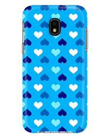 Picture of Samsung Galaxy J3 Achieve Supreme Series Case, Blue Hearts