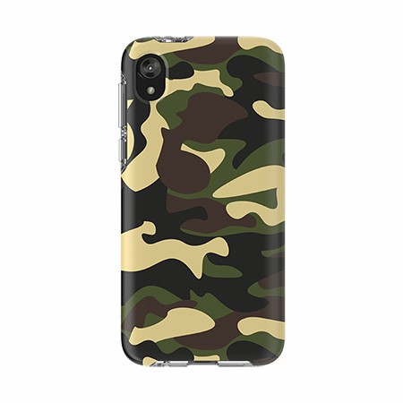 Picture of Supreme Series Case for Moto E6 Play, Green Camo