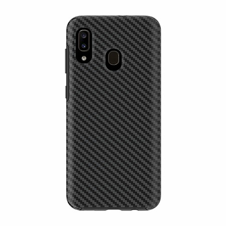 Picture of Supreme Series for Samsung A20, Black Carbon Fiber