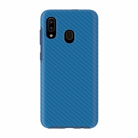 Picture of Supreme Series for Samsung A20, Blue Carbon Fiber