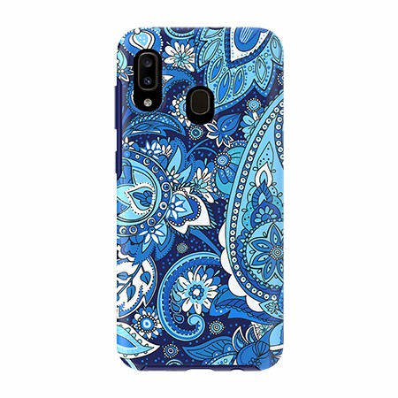 Picture of Supreme Series for Samsung A20, Blue Paisley