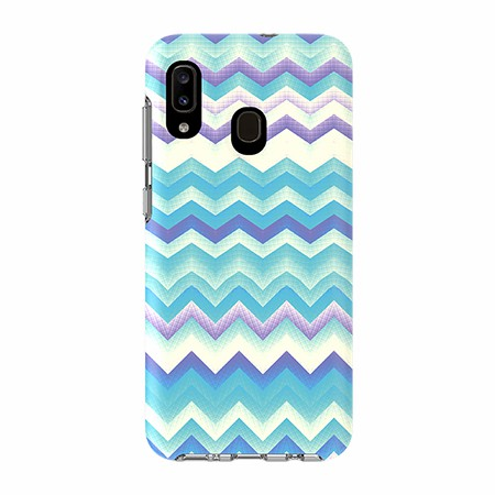 Picture of Supreme Series for Samsung A20, Blue Zag