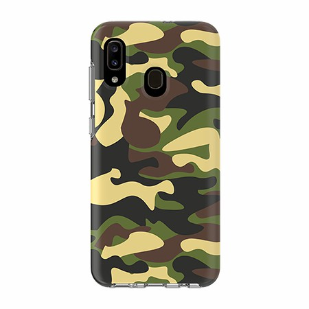 Picture of Supreme Series for Samsung A20, Green Camo