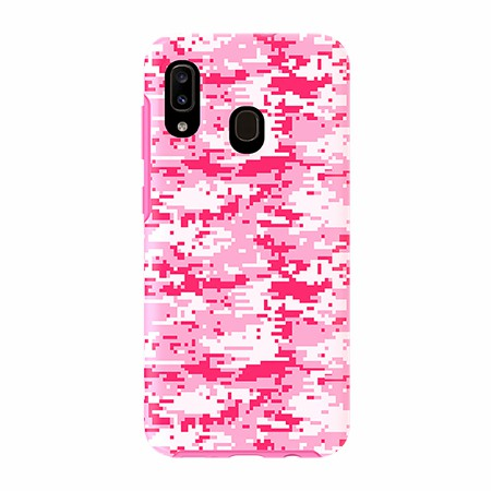 Picture of Supreme Series for Samsung A20, Pink Pixel Camo