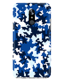 Picture of LG Stylo 4/4+ Supreme Series Case, Blue Pixel Camo