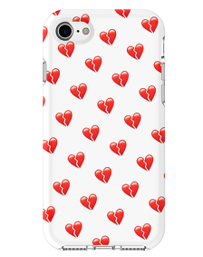Picture of Apple iPhone 7 & 8 Supreme Series Case, Broken Hearts