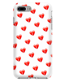 Picture of Apple iPhone 7 Plus & 8 Plus Supreme Series Case, Broken Hearts