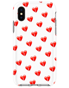 Picture of Apple iPhone X/XS Supreme Series Case, Broken Hearts