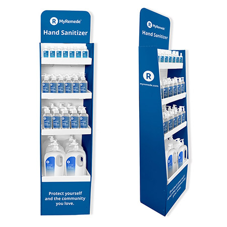 Picture of Sanitizer Display and Refill Kit