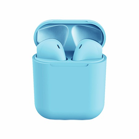 Picture of True Wireless Ear Buds with Charging Dock, Blue