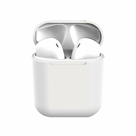 Picture of True Wireless Ear Buds with Charging Dock, White