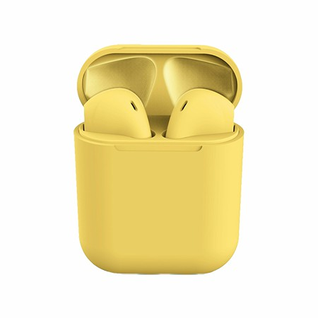 Picture of True Wireless Ear Buds with Charging Dock, Yellow